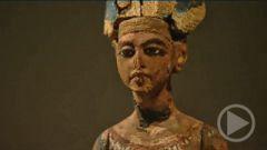 Wooden Figure of Echnaton
