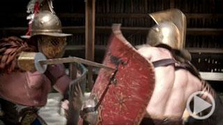 Die Gladiatoren: siegen oder sterben