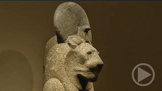Statuen der Goettin Sachmet