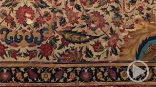 Spiralranken Teppich