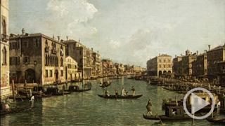 Venezianische Ansichten im Grauen Kl